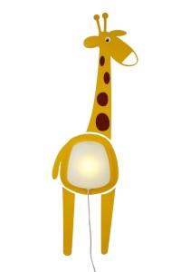 Sticker mural chambre enfant Luxtik-Giraffe