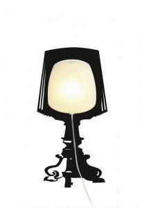 Sticker mural lampe Luxtik_Electra
