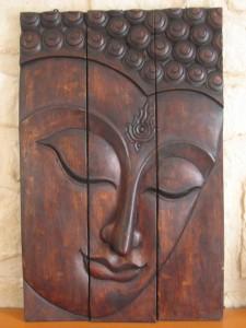 triptyque décoration zen