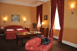 Chambre d'hôtel à Prague