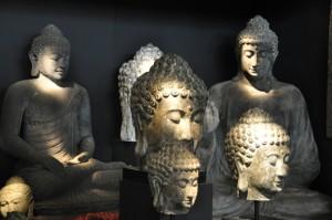 statuts bouddha