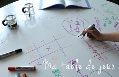 Tableau-feutre-sur ma table