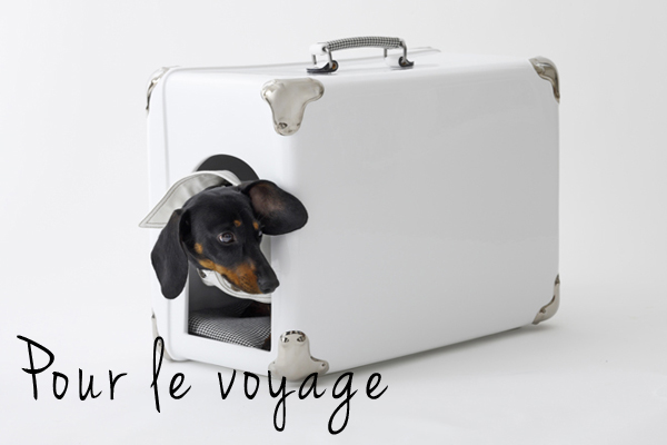 Travel Dog s House Niche Couchage design pour chien