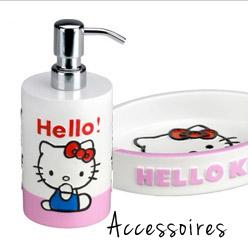 accessoires bain hello kitty