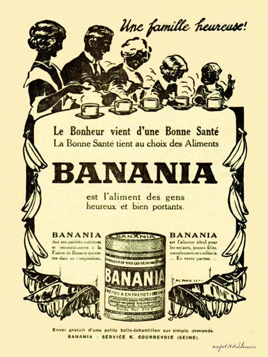 banania pour ma deco....