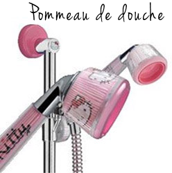 pommeau de douche hello kitty