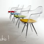 Chaises design customisables