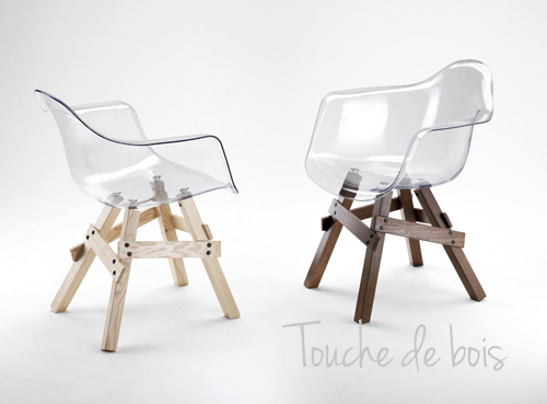 Chaise Design Lucina Avec Accoudoirs