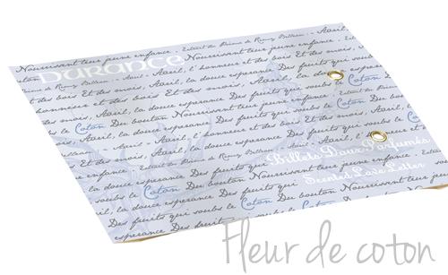 Sachet Senteur Billet Doux Fleur de Coton DURANCE