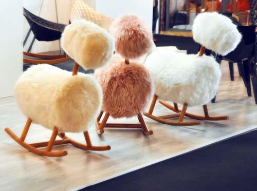 fourrure pour les meubles