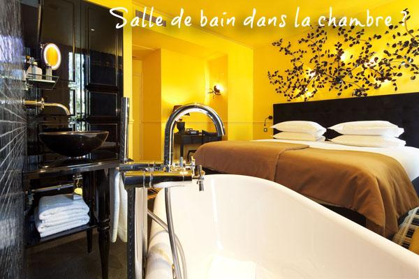 Hotel-original salle de bain chambre