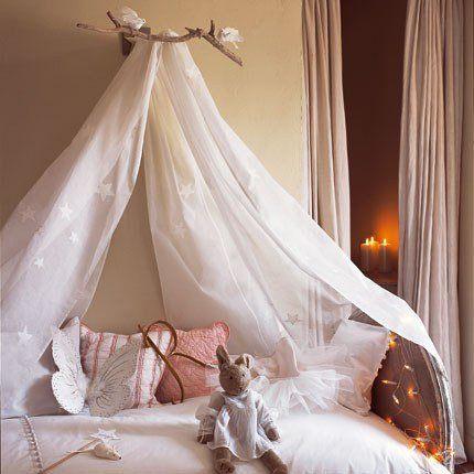 un ciel de lit ma d coration maison. Black Bedroom Furniture Sets. Home Design Ideas