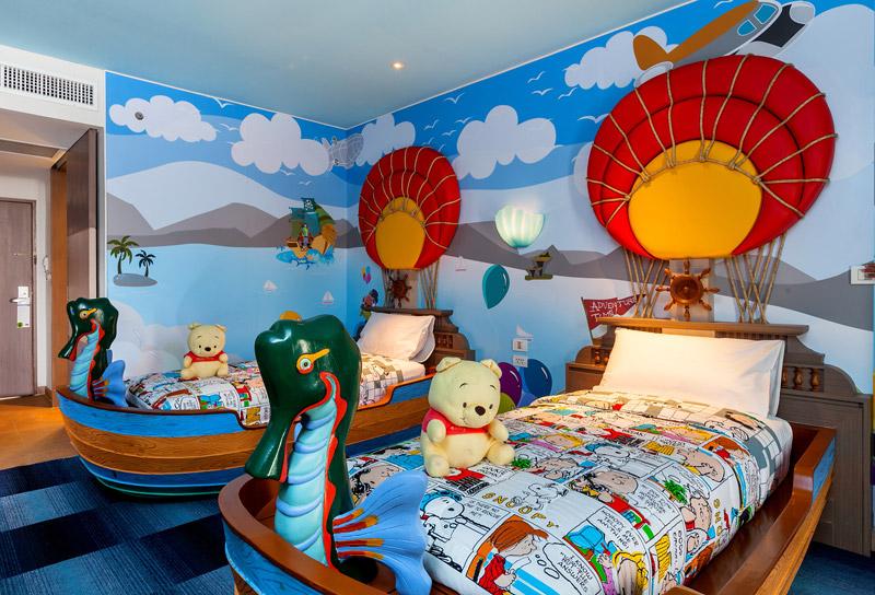 Kids : chambres d'hôtel pour les enfants
