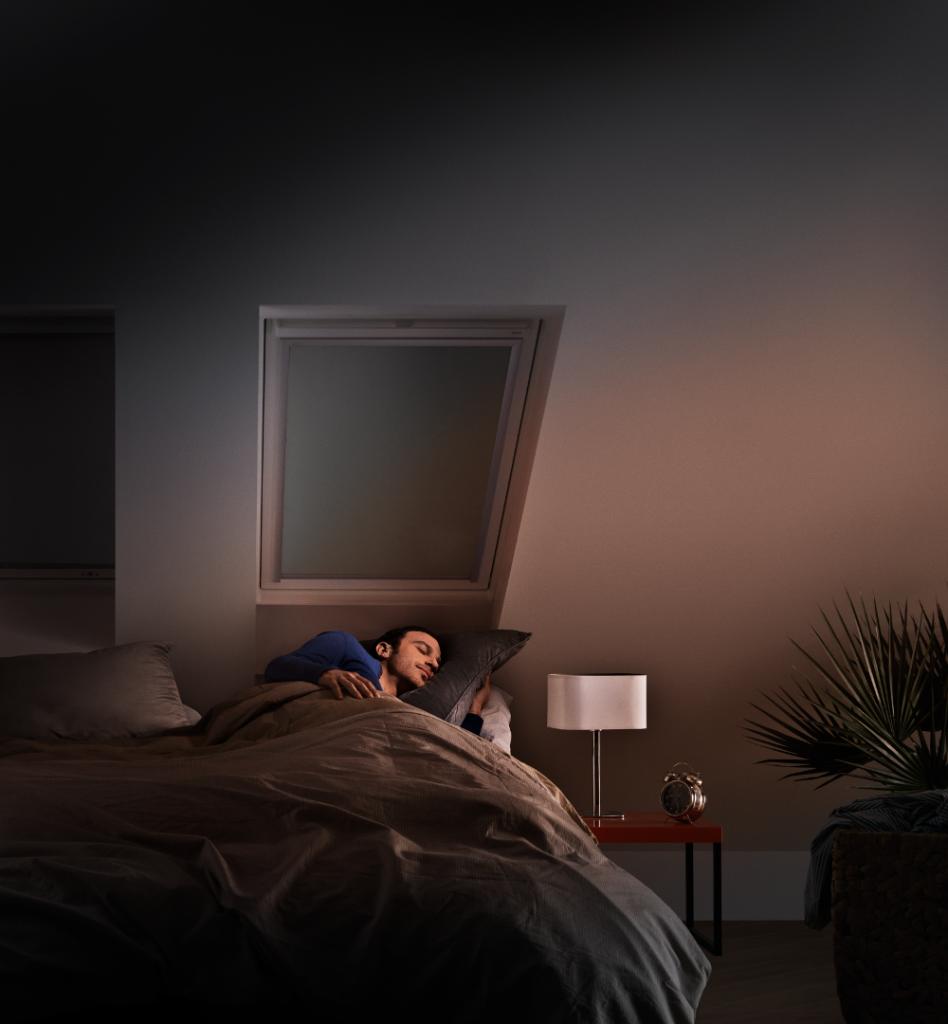 dormir dans le noir velux