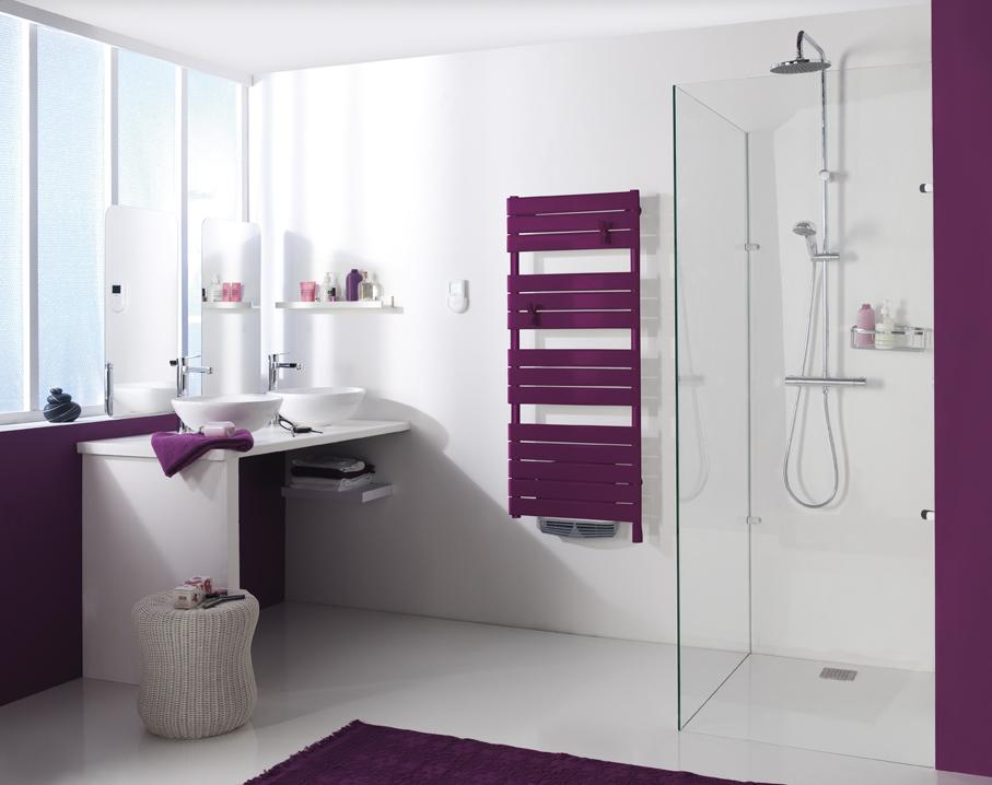 Design : les sèches serviettes tout en couleurs