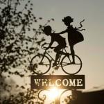 Comment souhaiter la bienvenue aux visiteurs ?