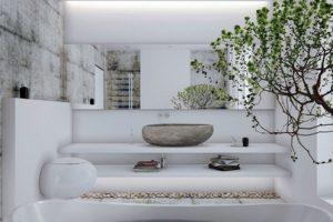 vasque import en pierre