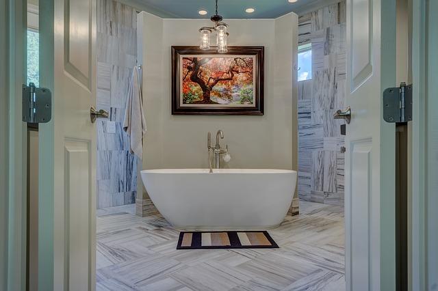 baignoire ilot salle de bain