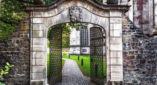 Un portail chic et chouette