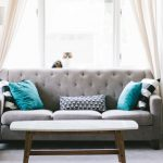 Canapé et fauteuil design