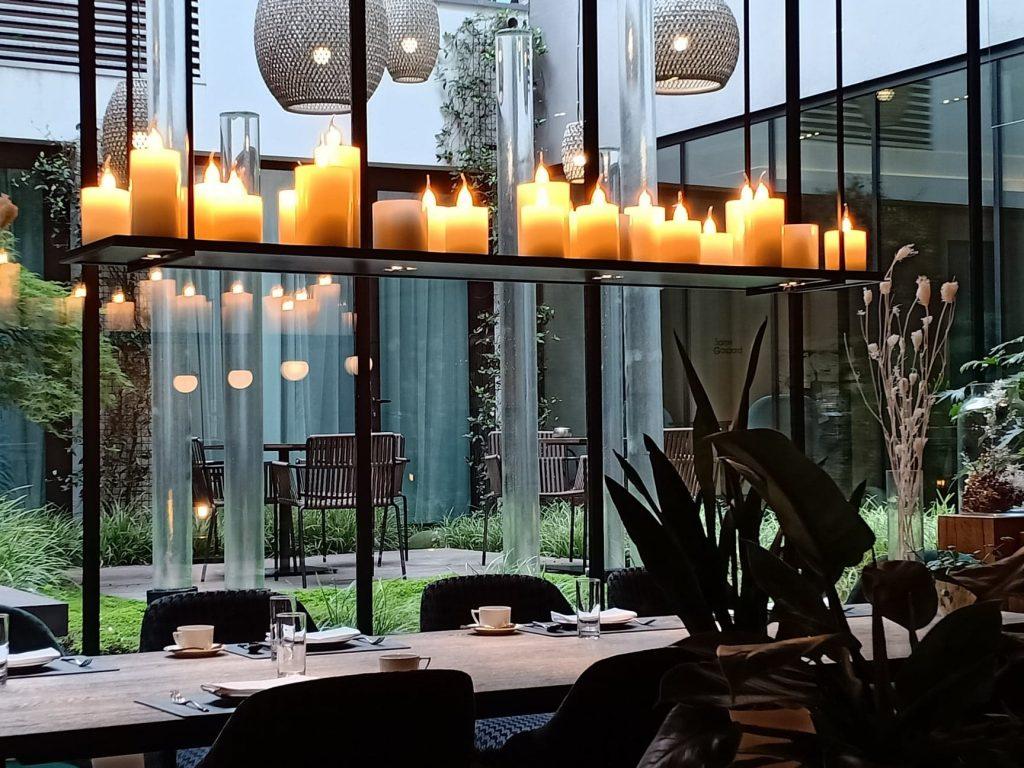 Hotel balthazar rennes salle à manger