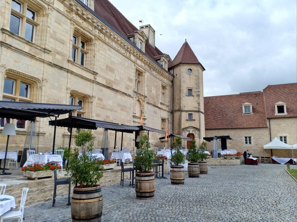 Hotel golf chateau de Chailly France - restaurant