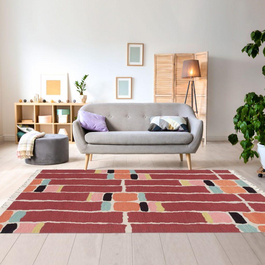 tapis huge pour salon