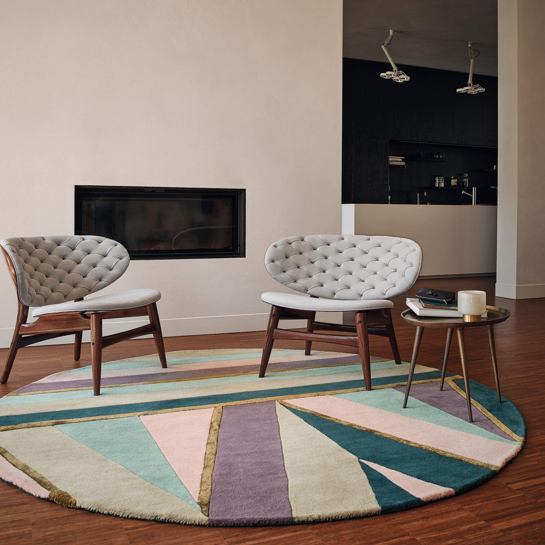 tapis rond pour salon